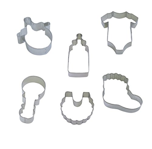 R & M International Top Selling Set of 6 Assorted Sweet Baby Cookie Cutters for Beautiful Baked Good and Crafts -  4