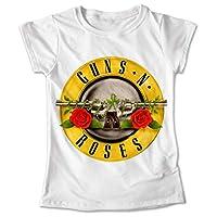 Blusa Rock Colores Playera Estampado Guns N Roses #023