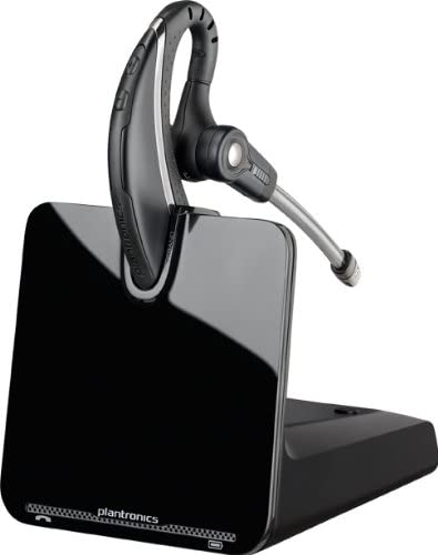 Amazon Com Plantronics Cs530 Office Wireless Headset With Extended Microphone Single