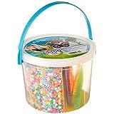 Perler Beads días soleados Actividad Cubo