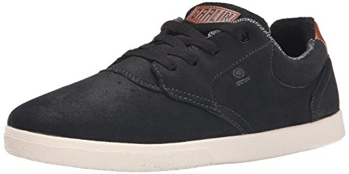 C1RCA Men's JC01 Skate Shoe, Black/Dark Shadow, 7 M US
