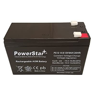 POWERSTAR PowerStar12V 9AH Battery for Razor E200 & E300S Electric Scooter - Lasts Longer : Automotive Batteries : Sports & Outdoors