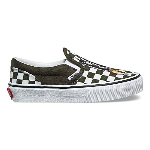 Image of Vans Classic Slip-On (Checkerboard) (Kids)