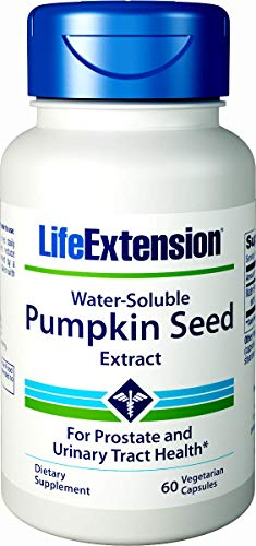 Life Extension Water-Soluble Pumpkin Seed Extract, 60  Vegetarian Capsules ()