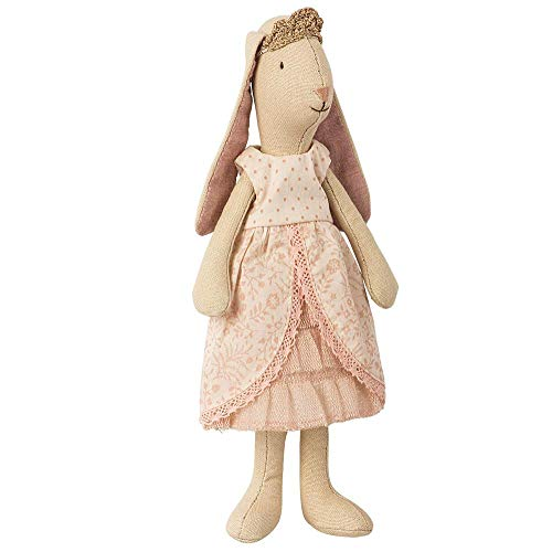 - Maileg Light Mini Bunny Princess Rose in Pink Gown