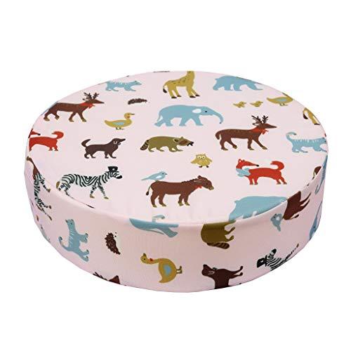 Vcenty Mat Memory Sponge Mat, Multicolored Soft Cushion Chair Cushion Sponge Gel Memory Foam Seat Pad, Full Polyester Short Plush and Memory Foam ()