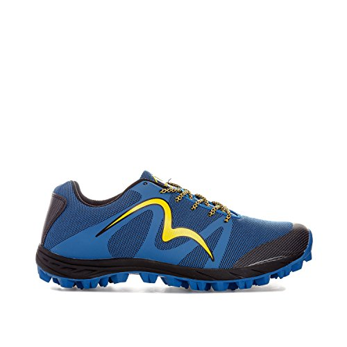 Più Miglia Mens Cheviot 4 Trail Running Trainers Uk 8 Blu