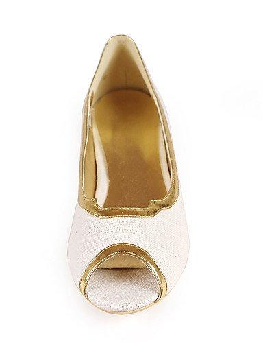 Uk1 Bas Cn32 Peep Pdx Lin Toe Talon us3 chaussures 5 Femme Beige 5Eu33 5A4jc3RqL
