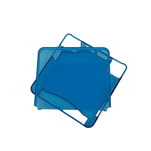 Clear Blue Protective Cover Case Shell Housing For Gameboy Advance SP GBA SP Game Console Crystal Cover Case