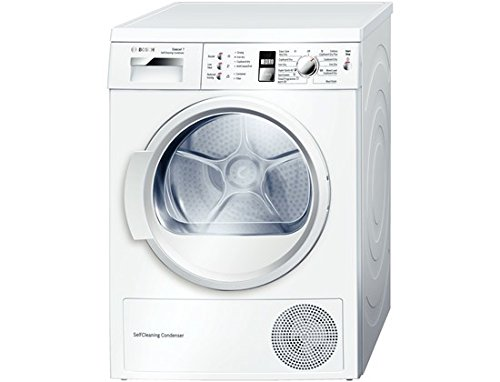 Bosch WTW863S1GB tumble dryer 7kg A + + White Front Load (Self Heat Pump,...
