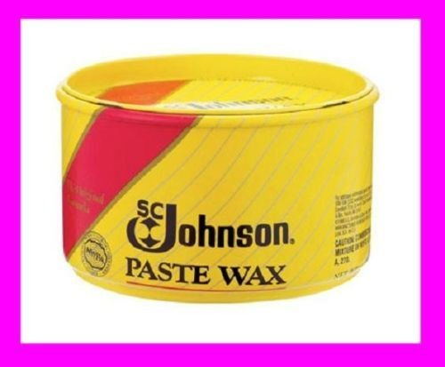 new-sc-johnson-paste-carnauba-wax-1-lb-wood-metal-cork-vinyl-satin-luster-00203