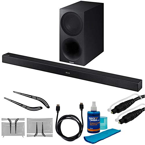 """Price comparison product image Sony 2.1ch Soundbar with Dolby Atmos (HTX9000F) with Soundbar Bracket 23"""" - 55"""",  6ft HDMI Cable,  6ft Optical Audio Cable & Universal Screen Cleaner for LED TVs"""