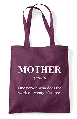 Funny The Definition Alternative Bag Not Shopper Dictionary Tote Petrol In Mother 7w5XqdX
