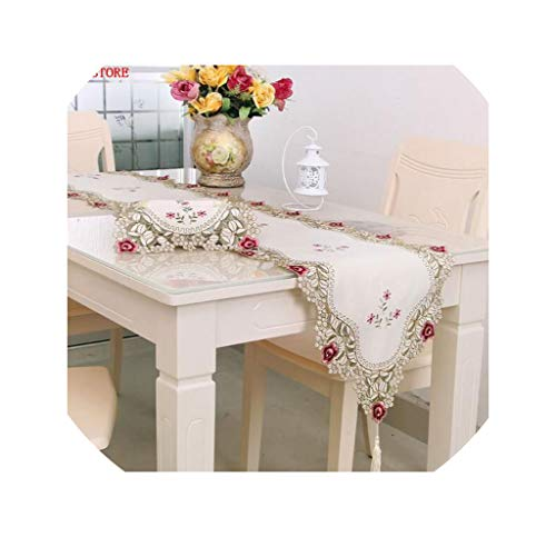 Table Runner Table Runners Embroidered Table Runners Table Decoration Runner Table,40Cmw 196Cml,Pattern 3