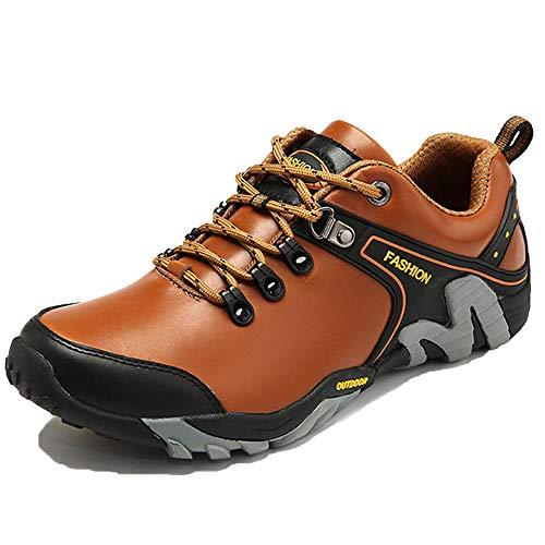 Calzado Cuero Con Para De yellow Ropa Deportivo Trabajo Y Plataforma Zapatos Cordones 40 Exteriores Invierno Casual Senderismo FPfHqwxUn