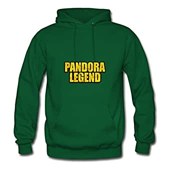 X-large Green Creative Puzzle Borderlands - Pandora Legend Hoodies By Lynsnyd - Women