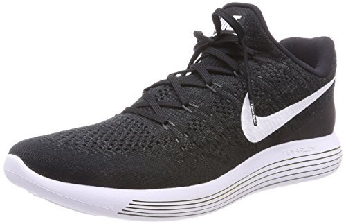 Punch Lunarepic Black White NIKE Hyper Running Low Shoe 2 Women's Flyknit v10w5q