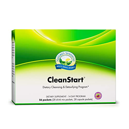 Nature's Sunshine CleanStart, Wild Berry | 14 Day Full Body Detox Supports Increased Energy, Weight Loss, and Detox in USA