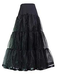 Petticoat Women's Ankle Length Bridal Net Crinoline Tulle Wedding Underskirt