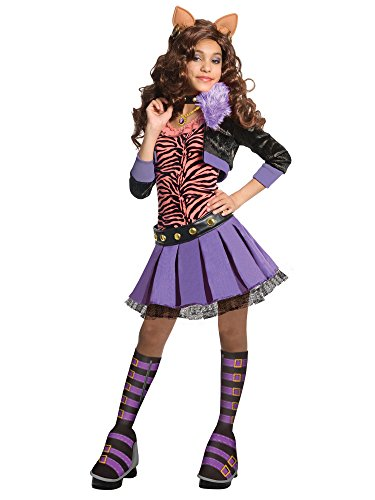 Monster High Deluxe Clawdeen Wolf Costume - Medium ()