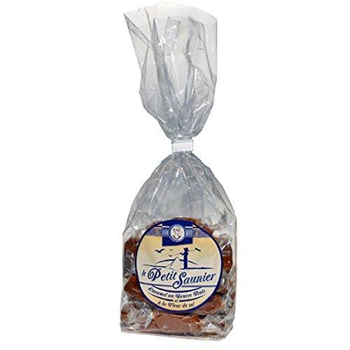 La Maison d'Armorine, Le Petit Saunier Caramel au beurre Salé - Cellophane Bag of French Salted Butter Caramels, 8.8 - Au Sales