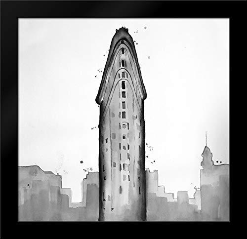 New York City Flatiron Building Framed Art Print by Atelier B Art Studio ()