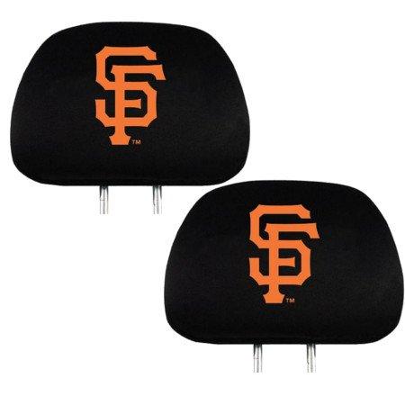 (Team ProMark Official Major League Baseball Fan Shop Authentic Car Truck Auto MLB Headrest Cover (San Francisco Giants))