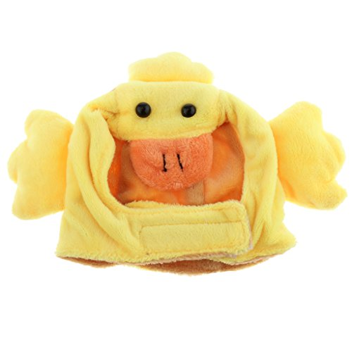 MagiDeal Cute Pet Costume Hat Cap for Puppy Teddy Small Dogs & Cats - Duck]()