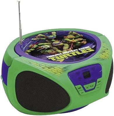 TORTUGAS NINJA - Boombox, Reproductor de música (Cefa Toys 25251)