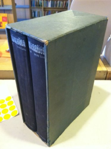 ALIENATION: THE CULTURAL CLIMATE OF OUR TIME, 2 VOLS. COMPLETE