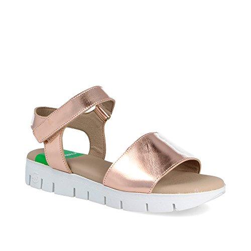 Syndra Slowwalk Zapatilla w Sneaker Mujer Salmón Metal qxABcfwv