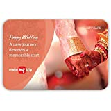 MakeMyTrip Happy Wedding Gift Card