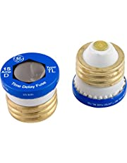 Power Gear 18252 15 Amp Time Delay Type T/TL Fuse, 2-Pack, Blue