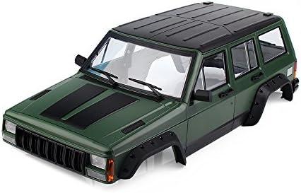 Keenso RC Car Body Shell 1 Set 313mm Wheelbase Body Car Shell for Scx10 90046 1//10 Rc Car