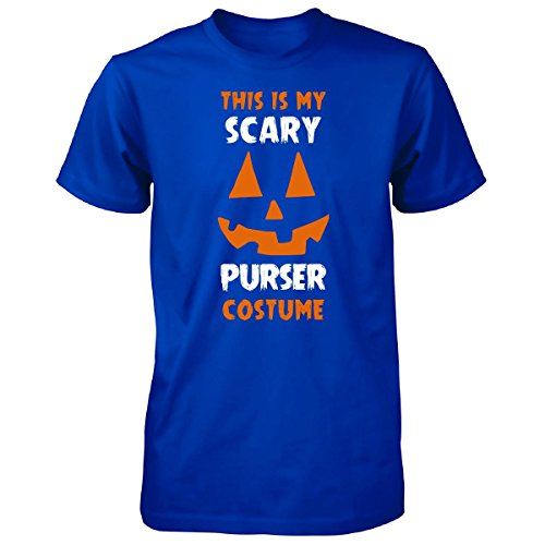Purser Costume (This Is My Scary Purser Costume Halloween Gift - Unisex Tshirt Royal 4XL)