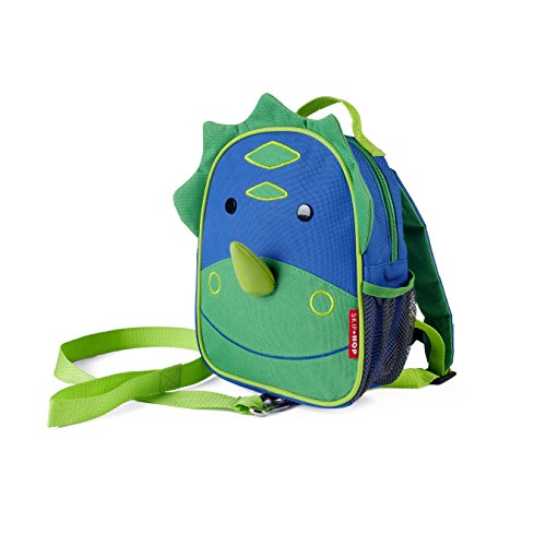 Buy Bargain Skip Hop Zoo Little Kid and Toddler Safety Harness Backpack, Dakota Dinosaur