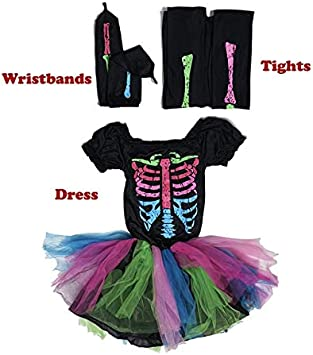 GJBXP Funky Punky Bones Disfraz Disfraz de Halloween para niños ...