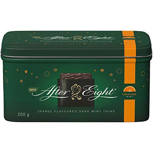 Nestlé After Eight Orange Dark Mint Thins Collectible Tin, 200 Grams