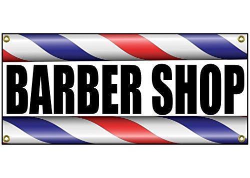 Barber Shop Banner Retail Store Shop Business Sign 36