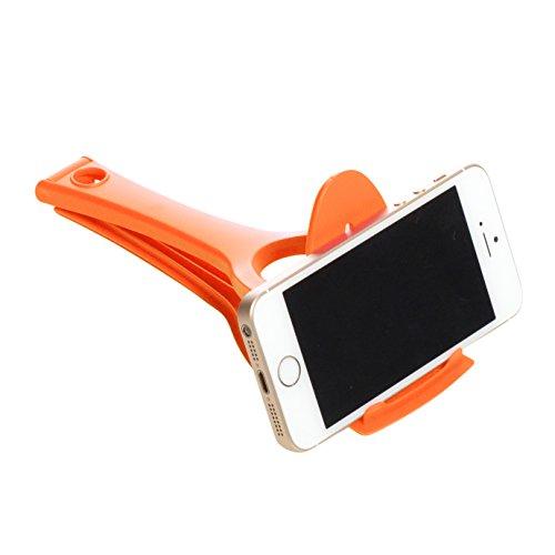 Milliard Spatula Phone and Tablet Recipe Stand Kitchen Gadget - Orange