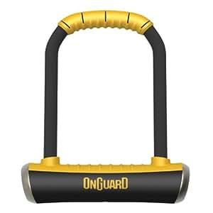 On-Guard Brute STD-8001 Keyed Shackle Lock - Black, 11.5 x 20.2 cm