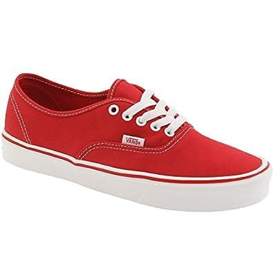a840314a1b Vans Men Authentic Lite + Canvas (red)