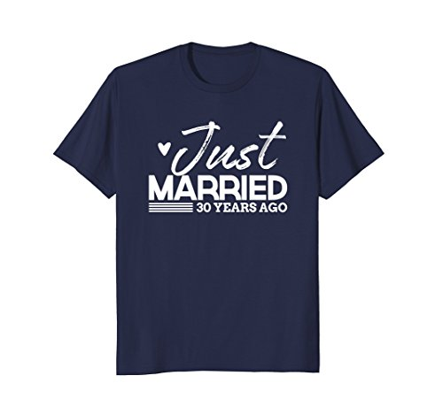 Just Married Funny 30 Year Anniversary Shirt & Gift ()