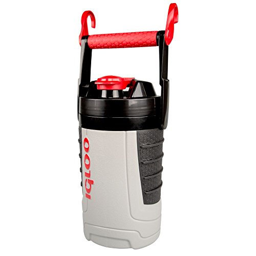 Igloo Proformance 1 Quart Sport Jug-Ash Gray/Red Heat, Gray