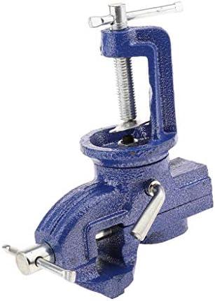 回転ベンチ万力 小型 360度 固定工具 ボルト固定可能 多機能ブラケット 細かい作業 全3サイズ - 50MM