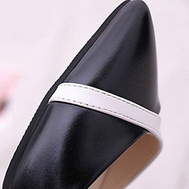 Femme Talon Semelles Chaussures Noir7 Semelles Combinaison Légères Légères à Blanc Marche LvYuan Talons Polyuréthane Décontracté Eté ggx black 5 Aiguille w5qnBCA