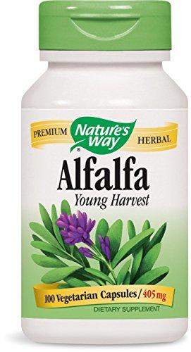 Nature's Way Alfalfa Leaves (COG), 100 Capsules (Pack of 2)