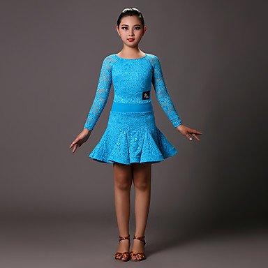 KleiderSpitzenKinder Kleid Lange Ärmel Normal B073FD4Y81 Bekleidung Bekleidung Bekleidung Ausgezeichnete Funktion fadeba