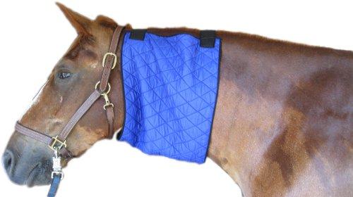HyperKewl Evaporative Cooling Horse Neck Wrap, Large, Blue