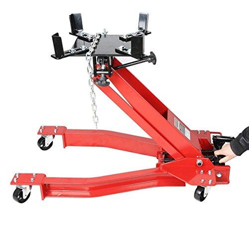 Goplus Low Profile Transmission Hydraulic Jack Low Lift